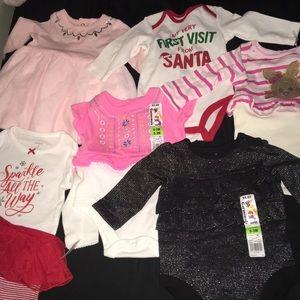 Babygirls clothes 0-3